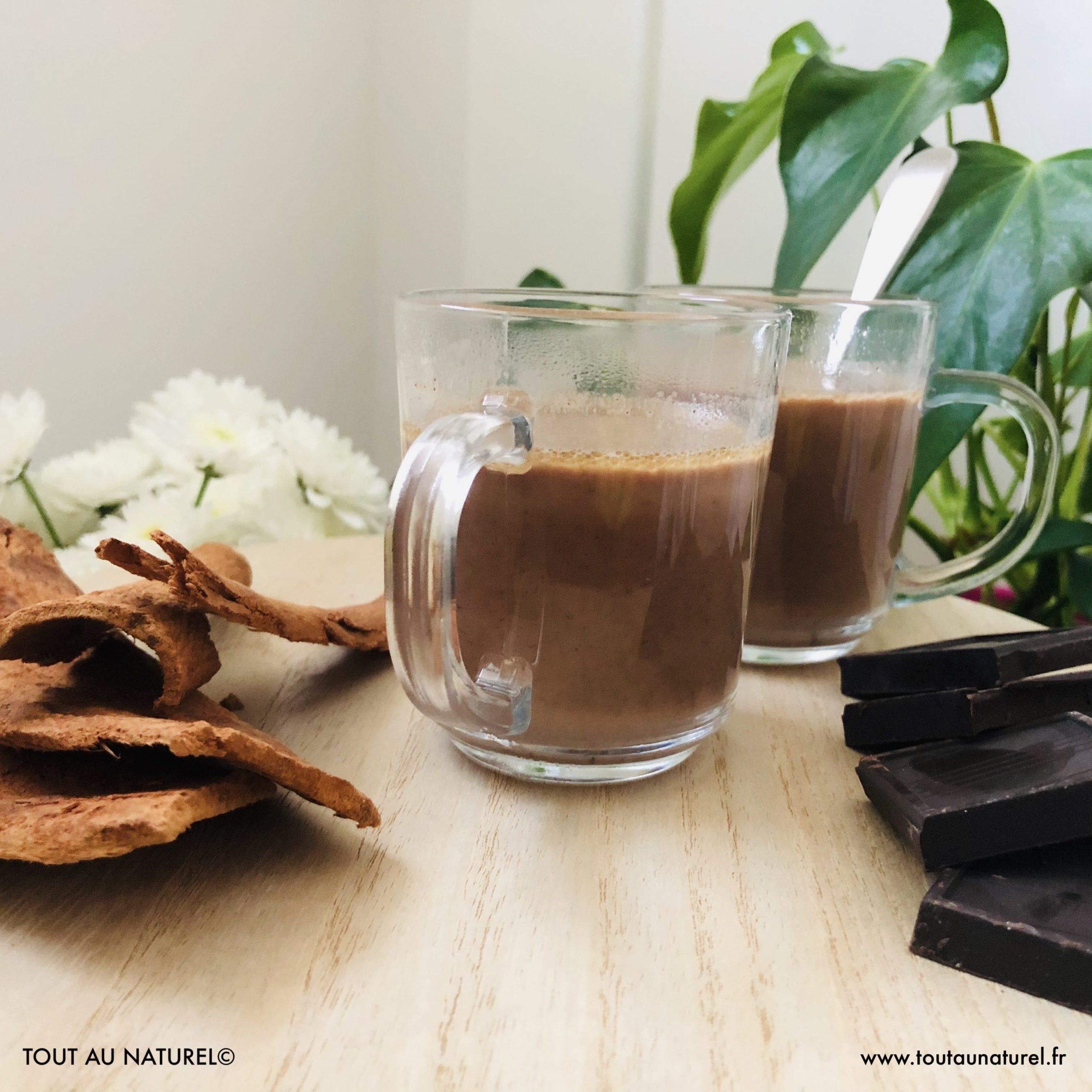 Recette chocolat chaud avec Kako