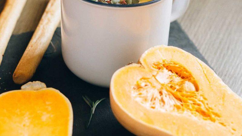 Recette Soupe courge Butternut vegan
