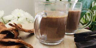 Chocolat chaud avec gwo kako recette sur Tout au naturel